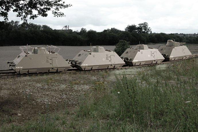 Liliput World War II German Panzerspahzug - Model Rail Forum