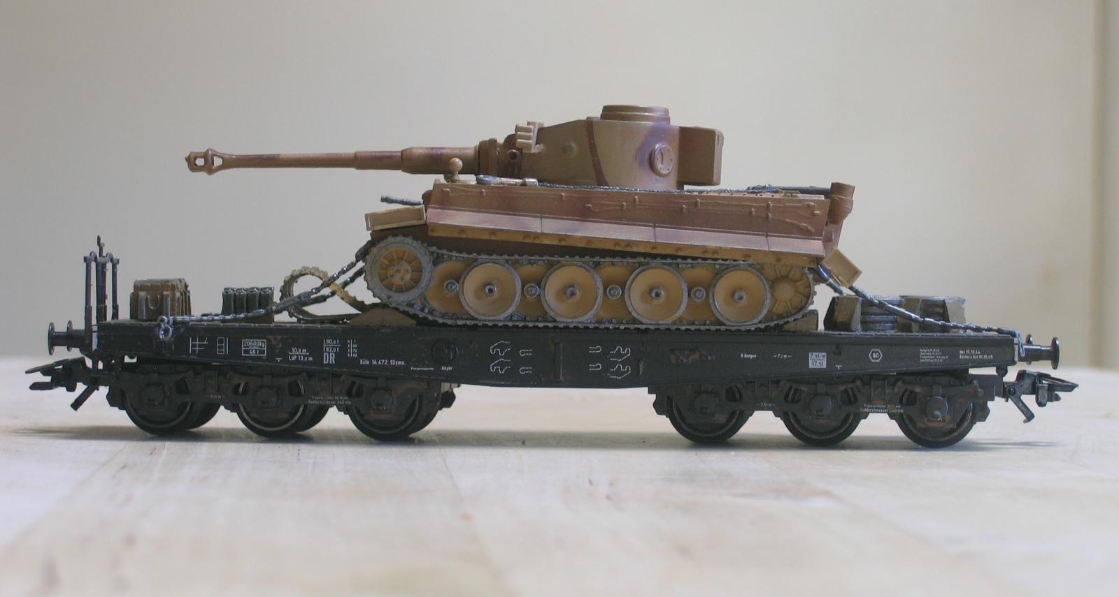 Artmaster Tiger tank and wagon load kit review - Model Rail Forum